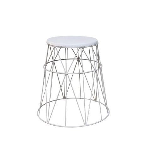 Příruční stolek LAVON - bílá