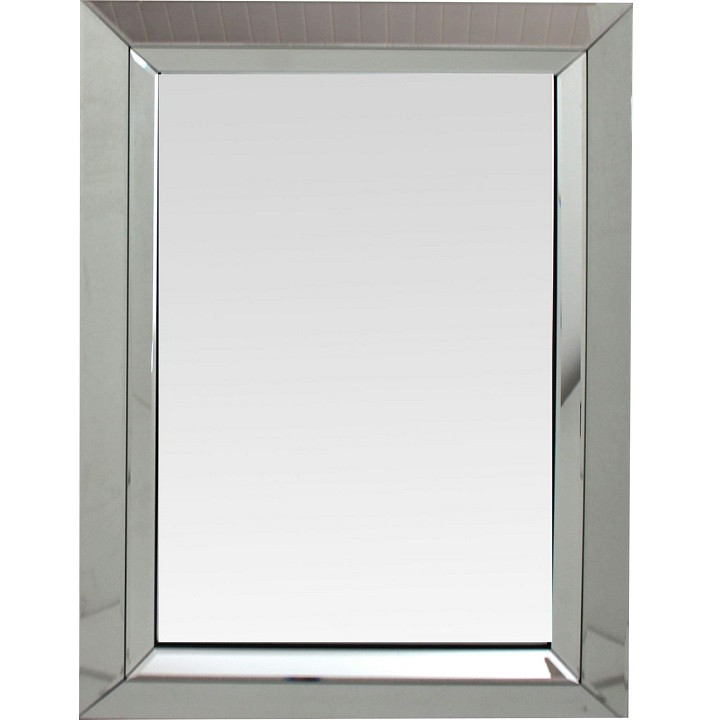 Tempo Kondela Zrcadlo ELISON TYP 1 - stříbrná + kupón KONDELA10 na okamžitou slevu 3% (kupón uplatníte v košíku)
