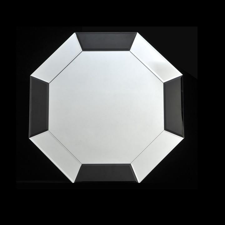 Tempo Kondela Zrcadlo ELISON TYP 14 - černá / bílá + kupón KONDELA10 na okamžitou slevu 3% (kupón uplatníte v košíku)