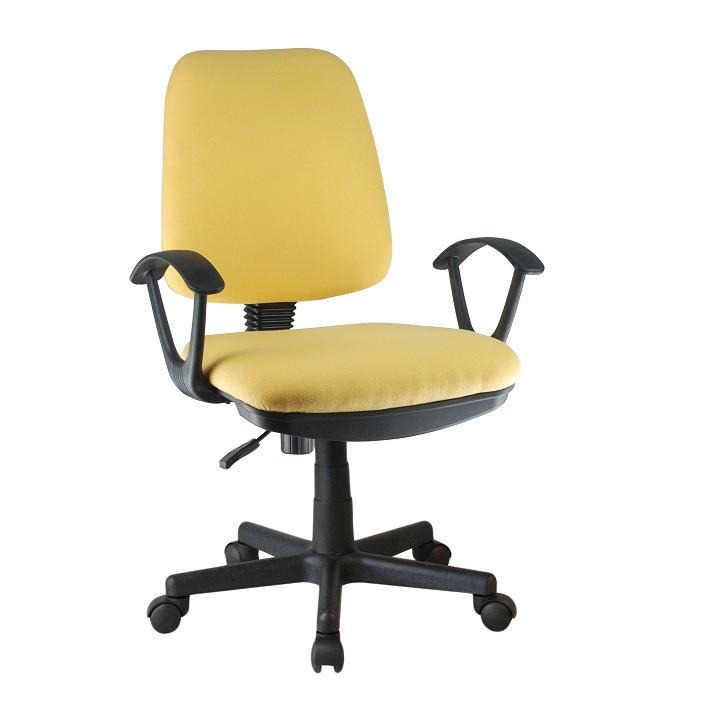 Tempo Kondela Kancelářská židle COLBY - žlutá + kupón KONDELA10 na okamžitou slevu 3% (kupón uplatníte v košíku)