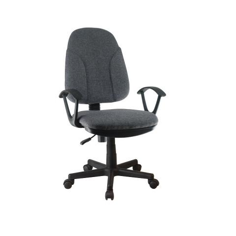 Kancelářská židle DEVRI - šedá látka