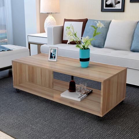 Konferenční stolek SIENA - dřevo světlý ořech