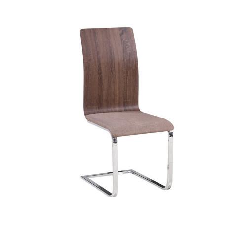 Jídelní židle ODETA - béžová látka