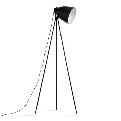 Stojací lampa Cinda Typ 5 - černý kov