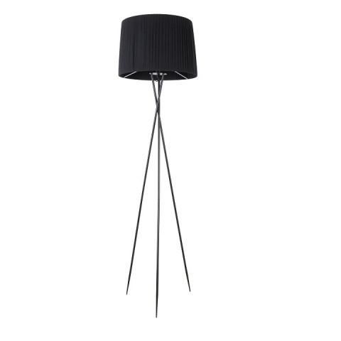 Stojací lampa CINDA TYP 9 - kovový / černý odstín
