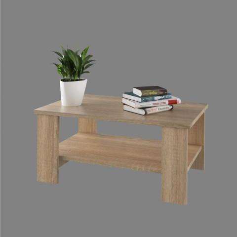 Konferenční stolek BERNARDO - dub sonoma