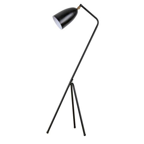 Stojací lampa Cinda Typ 23 - černý kov