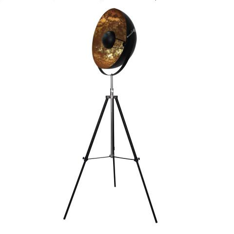 Stojací lampa JADE TYP 6 - černá / zlatá