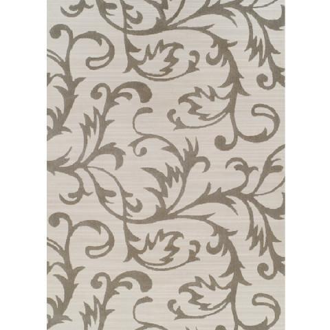 Koberec GABBY 100x150 - krémová / šedý vzor
