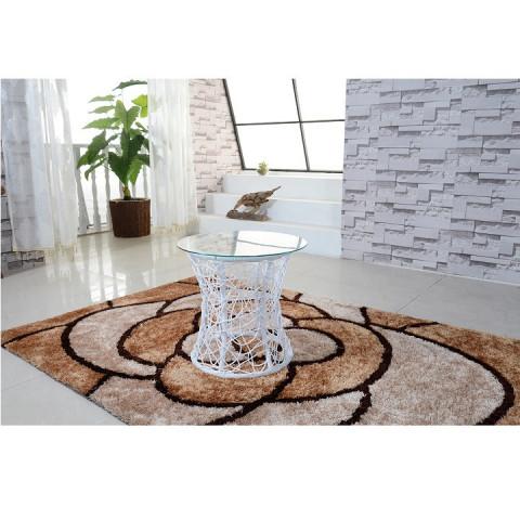 Příruční stolek SALMAR - bílá
