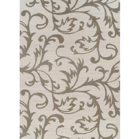 Koberec GABBY 57x90 - krémová / šedý vzor