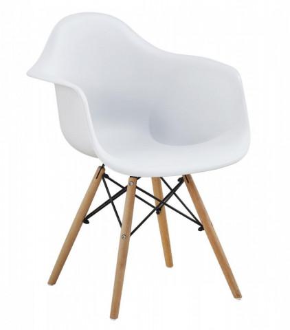 Jídelní židle Indiana - bílá