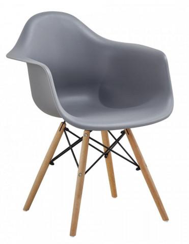 Jídelní židle Indiana - šedá