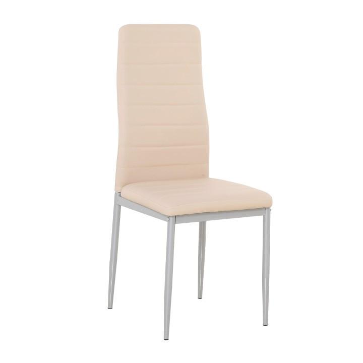 Tempo Kondela Židle COLETA NOVA - pudrová růžová ekokůže + kupón KONDELA10 na okamžitou slevu 3% (kupón uplatníte v košíku)