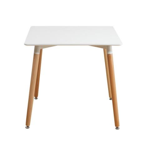 Jídelní stůl DIDIER NEW 2 - bílá + buk