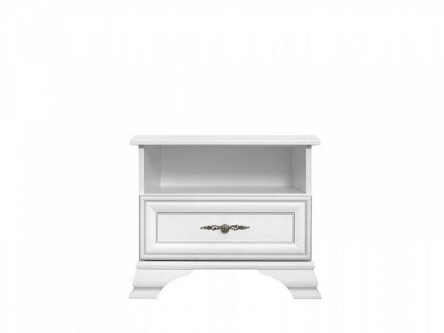 Noční stolek Idento KOM1S - Bílá č.1