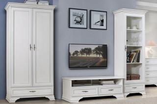 Televizní stolek Idento RTV2S - Bílá č.3