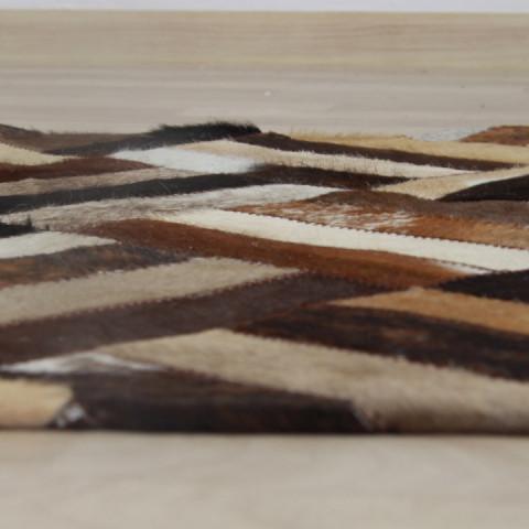 Luxusní koberec KOŽA typ2 170x200 - typ patchworku č.5