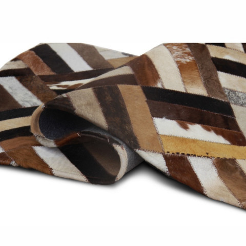 Luxusní koberec KOŽA typ2 170x200 - typ patchworku č.6