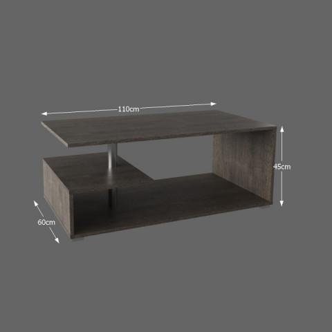 Konferenční stolek, dub trufel, DORISA