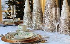 Jak prostřít vánoční stůl - Tipy na vánoční dekorace