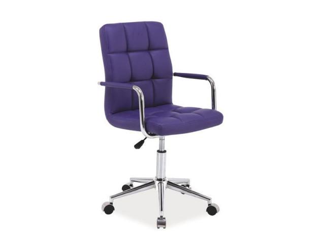 Kancelářská židle Q022 - fialová