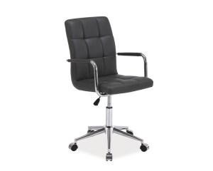 Kancelářská židle Q022 - šedá