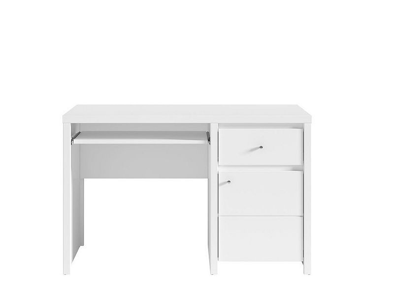 Psací stůl Karet - úchyt stříbrný