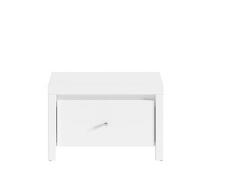 Noční stolek Karet KOM1S - Úchyt stříbrný
