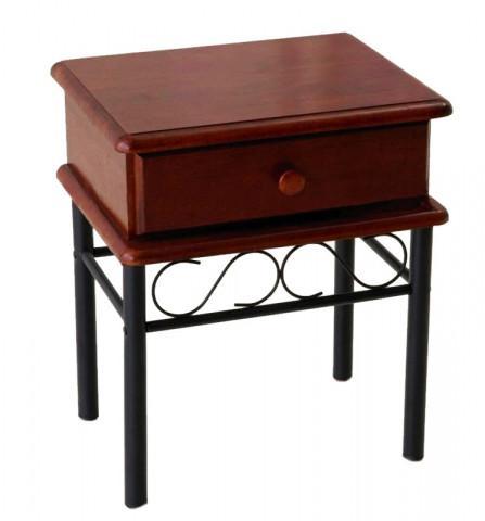 Noční stolek Dita - třešeň