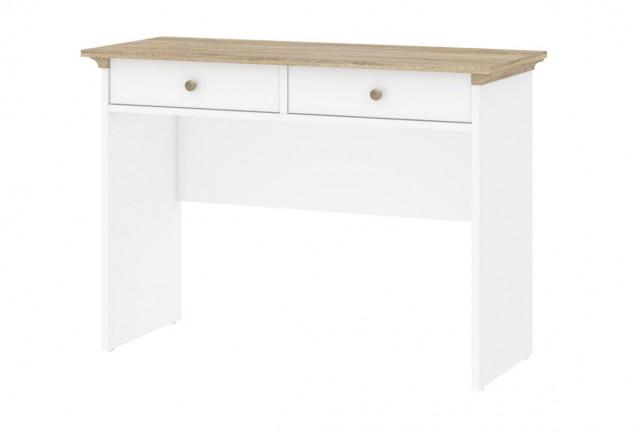 Toaletní stolek Provence 357 - bílá/dub