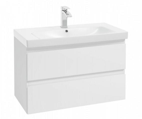 Skříňka pod umyvadlo Como D85 - bílá