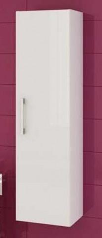 Závěsná koupelnová skříňka Metro C32 - bílý lesk