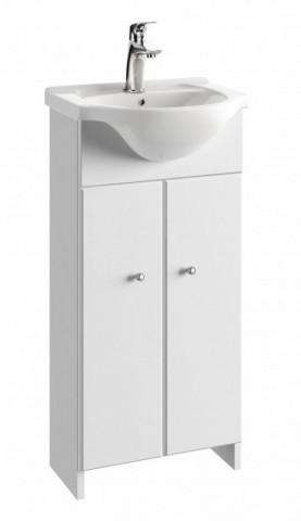 Koupelnová skříňka s umyvadlem Tania D40 - bílý lesk