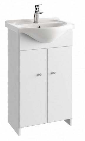 Koupelnová skříňka s umyvadlem Tania D50 - bílý lesk