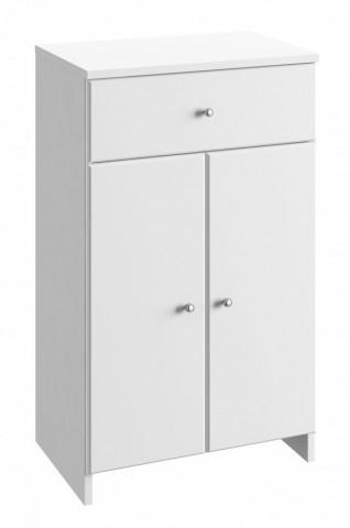 Koupelnová skříňka Tania B50 - bílý lesk