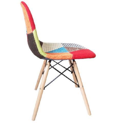 Jídelní židle, mix barev, CANDIE NEW TYP 2