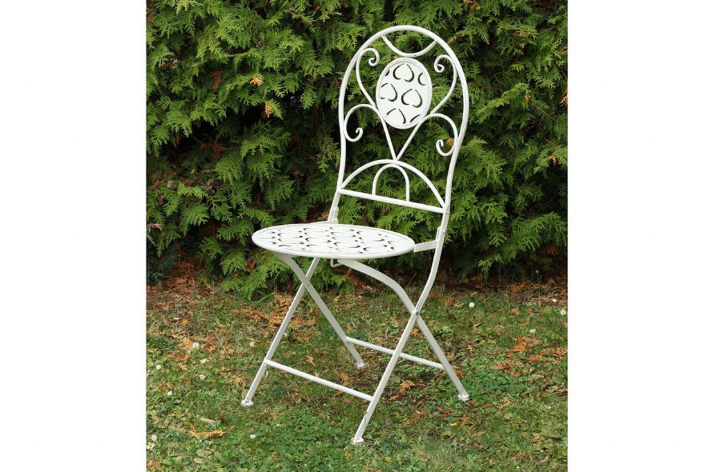Jídelní židle kovová YH15501WH