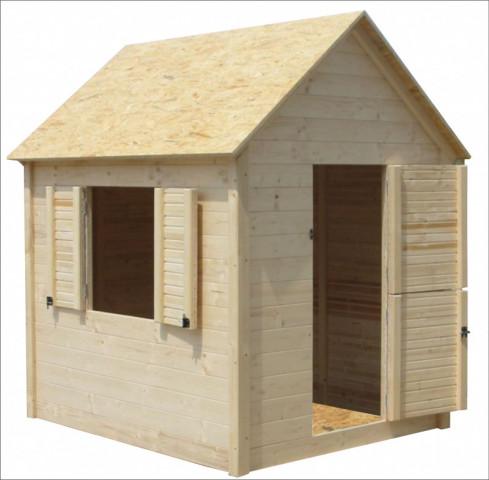 Dětský domek Axin I s podlahou