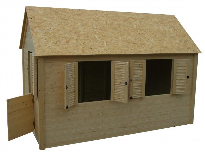 Dětský domek Axin Grande s podlahou