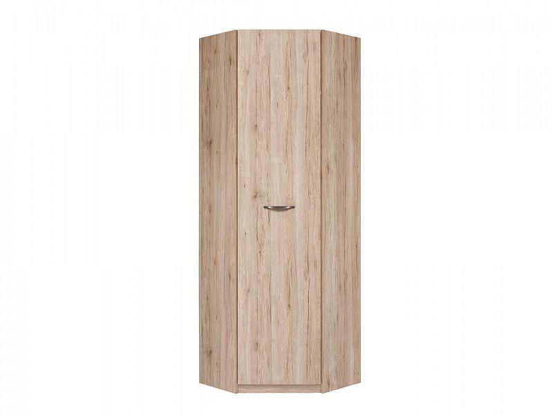 Rohová šatní skříň Executive SZFN1D - Dub San Remo světlý