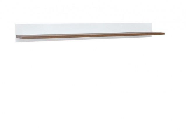 Police Heda POL/135 - Bílá/modřín sibiu zlatý/bílý lesk č.2