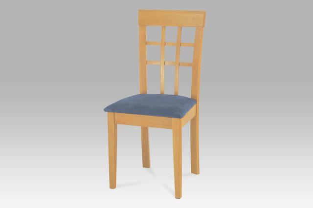 Jídelní židle BE1604 OAK - dub/sedák S3 SAND