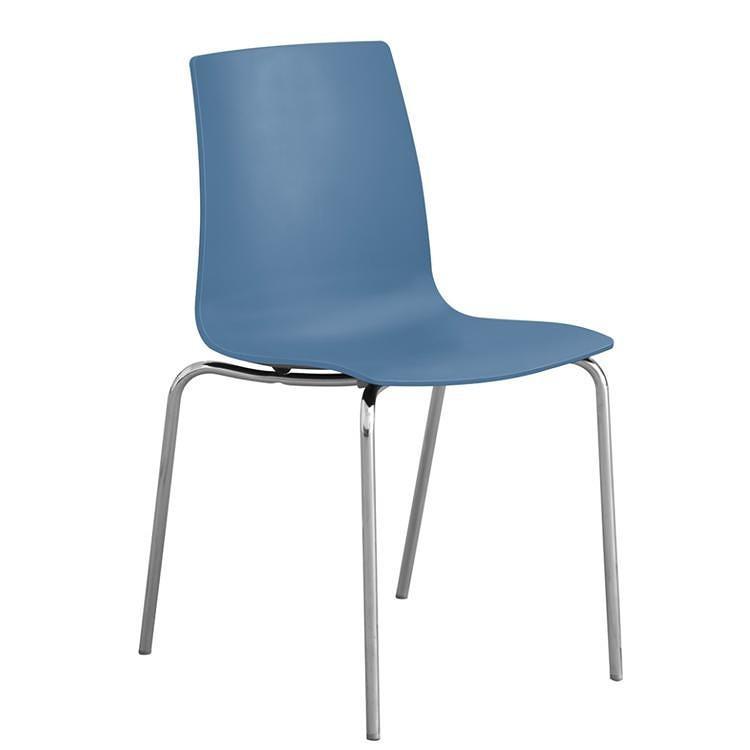 Stima Jídelní židle Candy mat Polypropylen bianco - bílá