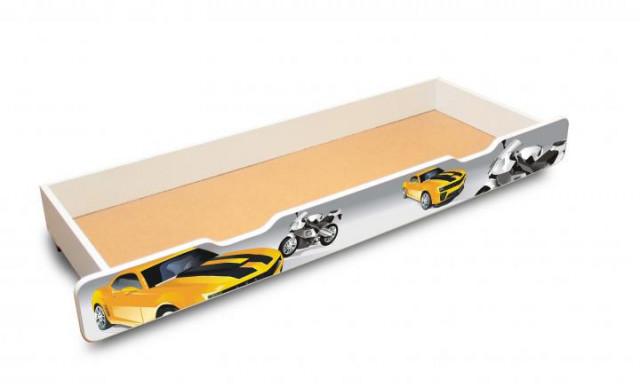 Úložný prostor k dětské posteli Závodník 160x70 - II. jakost