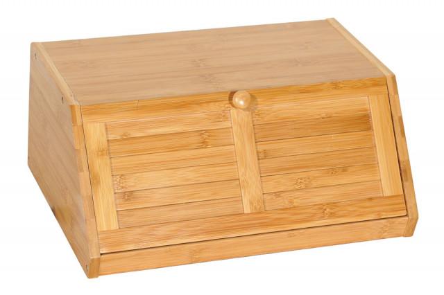 Box na pečivo z bambusu