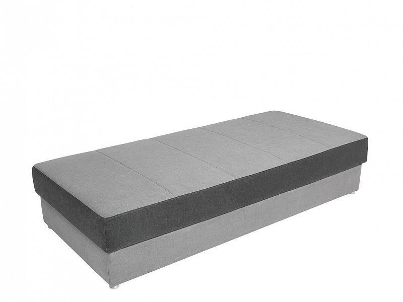 Postel Pepe 90 cm - Světle šedá barva