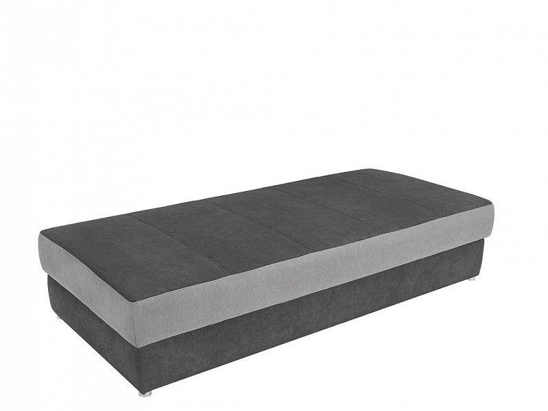 Postel 90 cm Pepe - grey tmavě šedá