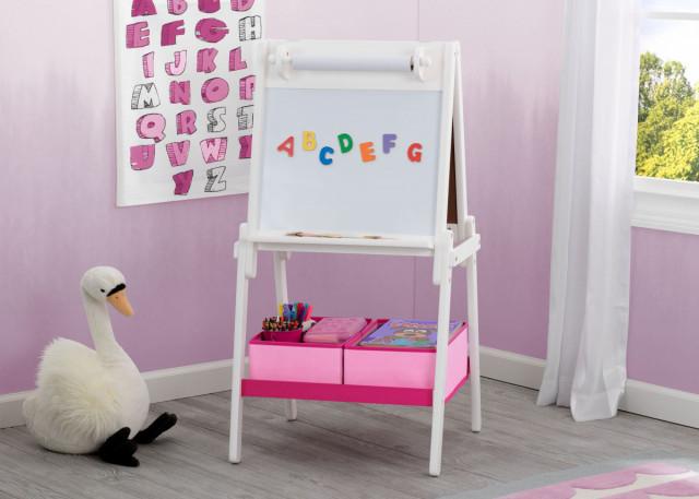 Dětská dřevěná tabule bílá