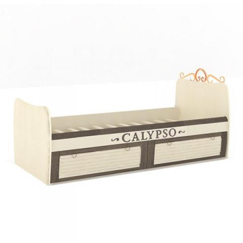Dětská postel Calypso 80x190 cm - štichlak/sonoma H tmavá